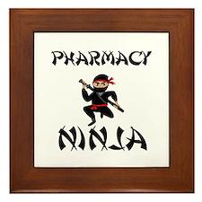 Pharmacy Ninja Framed Tile