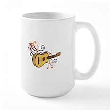 ACOUSTIC GUITAR AND MUSIC Mugs