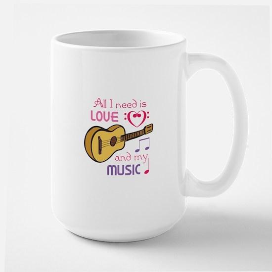 LOVE AND MUSIC Mugs