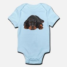 Colored Pencil Drawing Rotweiler Puppy E Body Suit