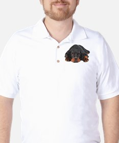Colored Pencil Drawing Rotweiler Puppy T-Shirt