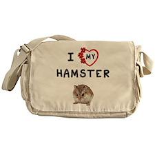 Love Hamster Messenger Bag