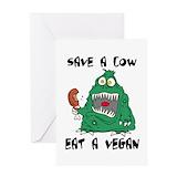 Vegan funny Stationery