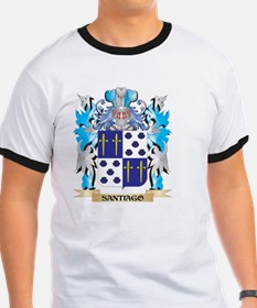 Santiago Coat of Arms - Family Crest T-Shirt