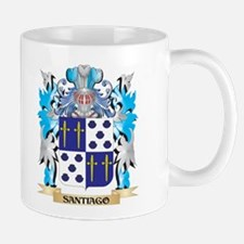 Santiago Coat of Arms - Family Crest Mugs