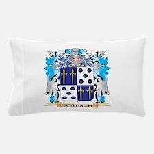 Santiago Coat of Arms - Family Crest Pillow Case