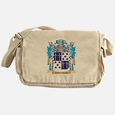 Santiago Coat of Arms - Family Crest Messenger Bag