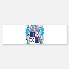 Santiago Coat of Arms - Family Cres Bumper Bumper Bumper Sticker