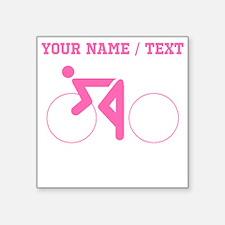 Pink Cycling (Custom) Sticker