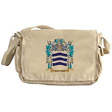 Santino Coat of Arms - Family Crest Messenger Bag