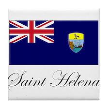Saint Helena - Flag Tile Coaster