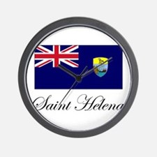 Saint Helena - Flag Wall Clock