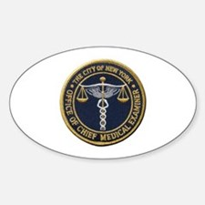 New York Medical Examiner Decal