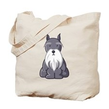 Andy Rooney Schnauzer Tote Bag