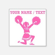 Pink Cheerleader (Custom) Sticker