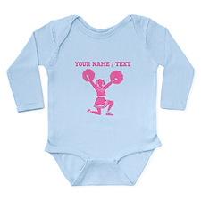 Pink Cheerleader (Custom) Body Suit