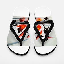 Traveling in Style Flip Flops