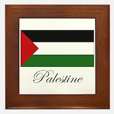 Palestine - Palestinian Flag Framed Tile