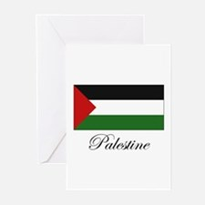 Palestine - Palestinian Flag Greeting Cards (Packa