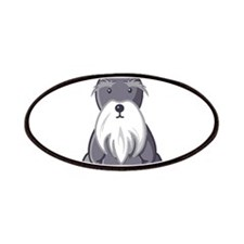 Andy Rooney Schnauzer Patch