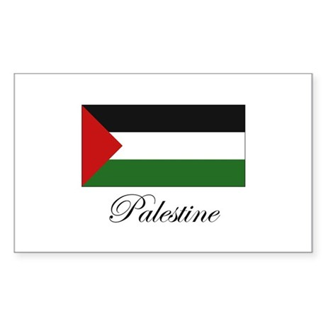 Palestine - Palestinian Flag Rectangle Sticker