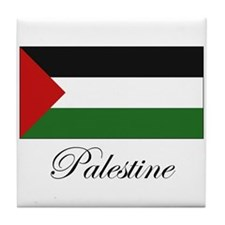Palestine - Palestinian Flag Tile Coaster