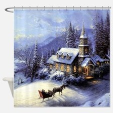 Funny Seasons Shower Curtain