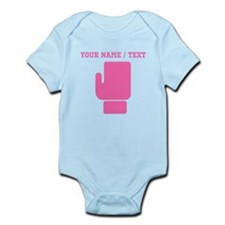Pink Boxing Glove (Custom) Body Suit
