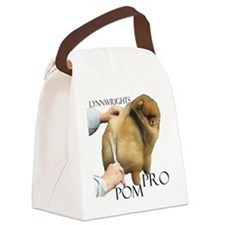 Pom Pro #2 Canvas Lunch Bag