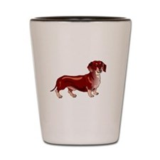 Relish the Weiner Dog Shot Glass