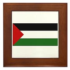 Palestinian Flag - Palestine Framed Tile