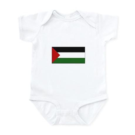 Palestinian Flag - Palestine Infant Bodysuit