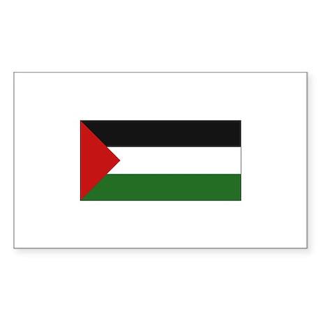 Palestinian Flag - Palestine Rectangle Sticker