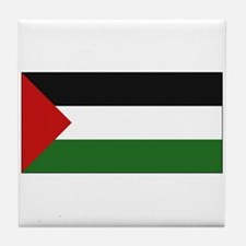 Palestinian Flag - Palestine Tile Coaster