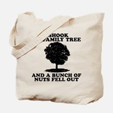 I Shook My Family Tree Tote Bag