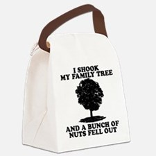 I Shook My Family Tree Canvas Lunch Bag