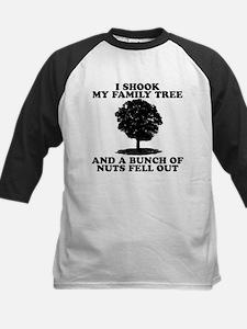 I Shook My Family Tree Baseball Jersey