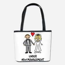 Under New Management - Wedding Humor Bucket Bag