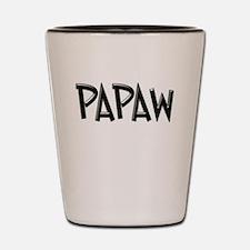 PAPAW CHISEL GB Shot Glass