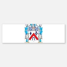 Saxton Coat of Arms - Family Crest Bumper Bumper Bumper Sticker