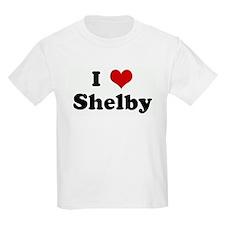 I Love Shelby T-Shirt