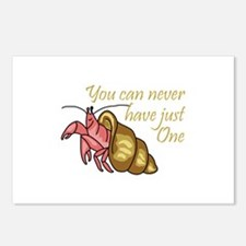 NEVER HAVE JUST ONE Postcards (Package of 8)