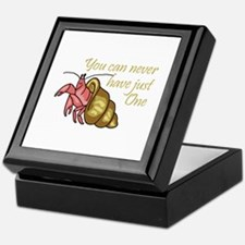NEVER HAVE JUST ONE Keepsake Box