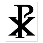 Chi Rho Small Poster