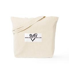 MW Heart Logo Tote Bag
