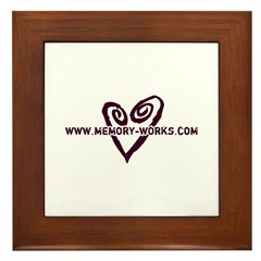 MW Heart Logo Framed Tile