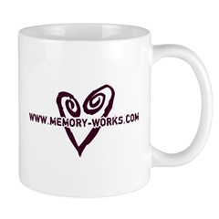 MW Heart Logo Mug