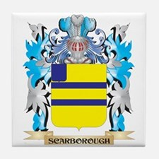 Scarborough Coat of Arms - Family Cre Tile Coaster
