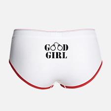Good Girl Cuffs Women's Boy Brief