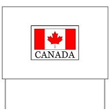 Canada Yard Sign
